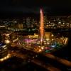 ホテル高層階からガラス越しに夜景を撮りたい!実践編